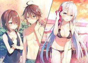 Rating: Questionable Score: 38 Tags: bikini detexted lyseria_christaria school_swimsuit seiken_gakuin_no_maken_tsukai swimsuits tagme toosaka_asagi User: zyll