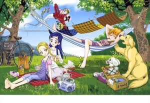 Rating: Safe Score: 6 Tags: futari_wa_pretty_cure kamikita_futago kujou_hikari mepple mipple misumi_nagisa pollun pretty_cure yukishiro_honoka User: drop
