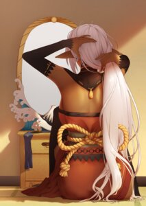 Rating: Safe Score: 34 Tags: full_metal_daemon_muramasa japanese_clothes pointy_ears sansei_muramasa thighhighs yan_wan User: Mr_GT