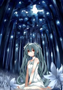 Rating: Safe Score: 63 Tags: dress gan hatsune_miku summer_dress vocaloid User: aihost