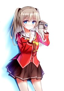 Rating: Safe Score: 47 Tags: charlotte seifuku tomori_nao tongtongtong User: charunetra
