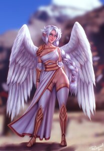 Rating: Explicit Score: 13 Tags: angel armor bottomless personal_ami pussy thighhighs uncensored wings User: dick_dickinson