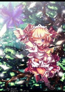 Rating: Safe Score: 25 Tags: abyss_of_parliament sunny_milk touhou wings User: Communist