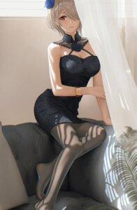 Rating: Safe Score: 67 Tags: benghuai_xueyuan cleavage dress eleaaa honkai_impact pantyhose rita_rossweisse User: mash