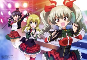 Rating: Safe Score: 21 Tags: anchovy carpaccio garter girls_und_panzer heels pepperoni skirt_lift thighhighs wang_guo_nian User: drop