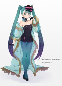 Rating: Safe Score: 16 Tags: dress hatsune_miku jeyu pantyhose tattoo vocaloid User: Mr_GT