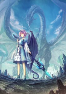 Rating: Safe Score: 13 Tags: heels horns monster pointy_ears tail tenmaso weapon wings User: Humanpinka