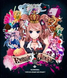 Rating: Safe Score: 22 Tags: bra cleavage dangan-ronpa enoshima_junko monokuma twinkly User: Metalic