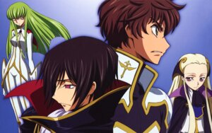 Rating: Safe Score: 12 Tags: c.c. code_geass kururugi_suzaku lelouch_lamperouge shinbo_takurou v.v. User: ashlay