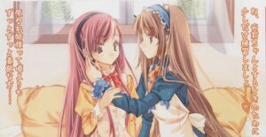 Rating: Safe Score: 15 Tags: maki_chitose nanto_yaya okuwaka_tsubomi seifuku strawberry_panic yuri User: Radioactive