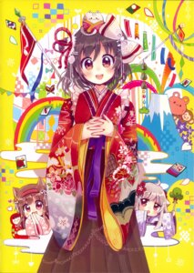 Rating: Questionable Score: 10 Tags: animal_ears chibi japanese_clothes neko nekomimi possible_duplicate sakura_oriko User: Radioactive