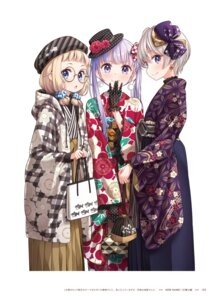 Rating: Questionable Score: 10 Tags: hoshikawa_hotaru new_game! sakura_nene suzukaze_aoba tokunou_shoutarou User: kiyoe