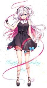 Rating: Safe Score: 112 Tags: dress garter heels komeshiro_kasu musubime_yui yuitube User: BattlequeenYume