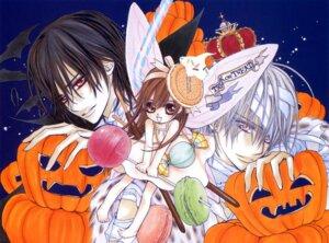 Rating: Safe Score: 4 Tags: cross_yuuki halloween hino_matsuri kiryuu_zero kuran_kaname vampire_knight User: Radioactive