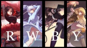 Rating: Safe Score: 37 Tags: blake_belladonna bojue_yu_yaojing pantsu ruby_rose rwby sword weiss_schnee yang_xiao_long User: zero|fade