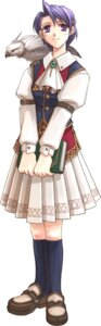 Rating: Safe Score: 8 Tags: eiyuu_densetsu eiyuu_densetsu:_sora_no_kiseki klose_rinz shiina_you stick_poster User: blooregardo