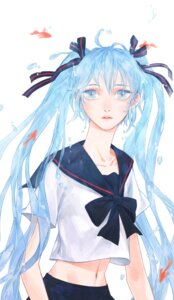 Rating: Safe Score: 5 Tags: bottle_miku hatsune_miku heather37 seifuku vocaloid User: Radioactive