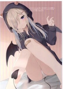 Rating: Questionable Score: 56 Tags: bandaid mafuyu_(chibi21) pantsu ruty tail wings User: kiyoe