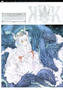 Rating: Safe Score: 20 Tags: aquarian_age dress horns kawaku monster User: midzki