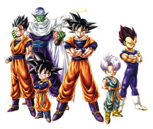 Rating: Safe Score: 5 Tags: dragon_ball dragon_ball_z male piccolo son_gohan son_goku son_goten tagme trunks vegeta User: Radioactive