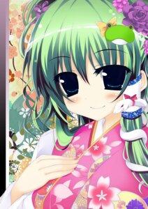 Rating: Safe Score: 21 Tags: kimono kochiya_sanae torisukerabasu touhou User: fairyren