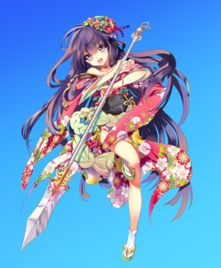 Rating: Safe Score: 26 Tags: cu-rim kimono weapon User: fairyren