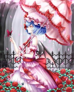 Rating: Safe Score: 22 Tags: dress remilia_scarlet sheya touhou umbrella wings User: Mr_GT