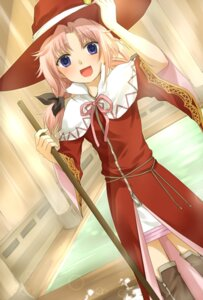 Rating: Safe Score: 10 Tags: harvest_moon melody okitsune rune_factory thighhighs witch User: Radioactive
