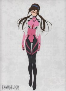 Rating: Safe Score: 27 Tags: bodysuit makinami_mari_illustrious megane neon_genesis_evangelion User: NotRadioactiveHonest
