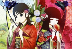 Rating: Safe Score: 23 Tags: enma_ai jigoku_shoujo jigoku_shoujo_mitsuganae mikage_yuzuki oka_mariko User: Radioactive