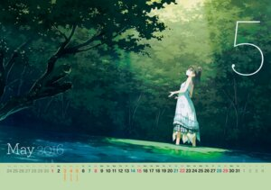 Rating: Safe Score: 72 Tags: 5_nenme_no_houkago calendar dress kantoku landscape shizuku_(kantoku) wet User: Hatsukoi