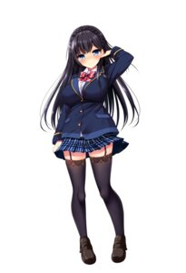 Rating: Safe Score: 33 Tags: jitaku_studio real_eroge_situation!_2 seifuku skirt_lift stockings tagme thighhighs User: moonian