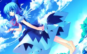 Rating: Safe Score: 24 Tags: cirno dress feet frac motomiya_mitsuki touhou wallpaper wings User: WtfCakes