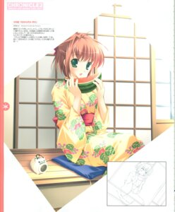 Rating: Safe Score: 8 Tags: kimono mikeou sketch User: Radioactive
