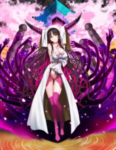 Rating: Safe Score: 44 Tags: breast_hold cleavage fate/extra fate/extra_ccc fate/stay_night horns kiryuutyki sessyoin_kiara tagme tattoo thighhighs User: nphuongsun93