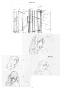 Rating: Safe Score: 2 Tags: monochrome sketch takasu_yasuko toradora! User: superogira