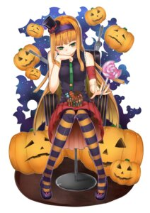 Rating: Safe Score: 9 Tags: hakumu halloween pantyhose User: shebang