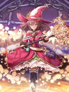 Rating: Safe Score: 26 Tags: h2o_(dfo) thighhighs weapon witch User: Mr_GT