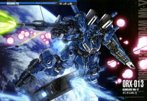 Rating: Safe Score: 17 Tags: gun gundam gundam_sentinel landscape mecha teraoka_iwao weapon User: drop
