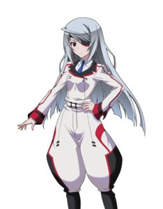 Rating: Safe Score: 30 Tags: eyepatch infinite_stratos laura_bodewig seifuku User: saemonnokami
