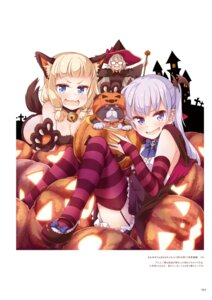 Rating: Questionable Score: 10 Tags: animal_ears halloween hazuki_shizuku megane neko new_game! possible_duplicate sakura_nene stockings suzukaze_aoba tail thighhighs tokunou_shoutarou witch User: kiyoe