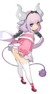 Rating: Questionable Score: 63 Tags: ass horns kanna_kamui kobayashi-san_chi_no_maid_dragon loli pantsu tail thighhighs uzubilla User: blooregardo