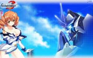 Rating: Safe Score: 29 Tags: baldr_sky_zero cleavage giga gun mecha no_bra pantsu torn_clothes wallpaper User: taki0120