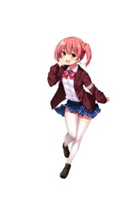 Rating: Safe Score: 21 Tags: jitaku_studio real_eroge_situation!_2 seifuku skirt_lift sweater tagme thighhighs User: moonian