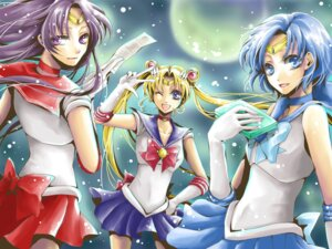 Rating: Safe Score: 5 Tags: hino_rei mizuno_ami sailor_moon sakura_(ms_ms_ms) tsukino_usagi wallpaper User: minakomel