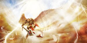 Rating: Safe Score: 8 Tags: armor kayle league_of_legends sword tagme wings User: Radioactive