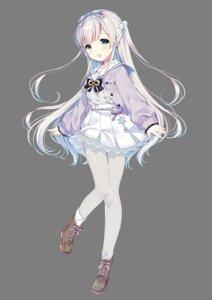 Rating: Safe Score: 55 Tags: manza_chitose onsen_musume pantyhose seifuku sweater transparent_png wasabi_(artist) User: saemonnokami