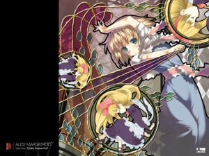 Rating: Safe Score: 9 Tags: alice_margatroid moriki_takeshi touhou wallpaper User: Radioactive