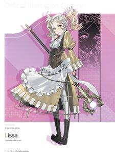 Rating: Questionable Score: 7 Tags: dress fire_emblem fire_emblem_kakusei kozaki_yuusuke liz_(fire_emblem) lolita_fashion nintendo pantyhose User: Radioactive