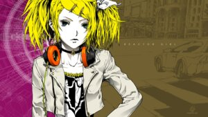 Rating: Safe Score: 13 Tags: headphones kagamine_rin meltdown_(vocaloid) nagimiso vocaloid wallpaper User: hobbito